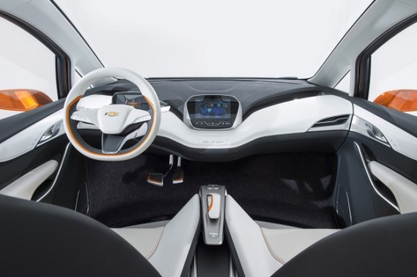 Inside Interior in the Chevrolet Bolt